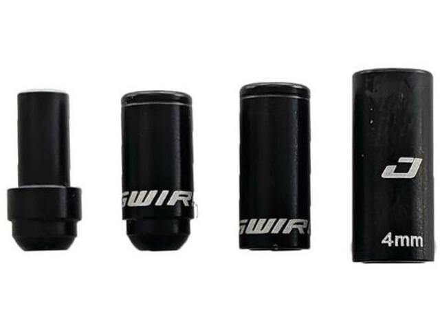 Jagwire 1X Elite Link Endkappen für Schaltzug aluminium